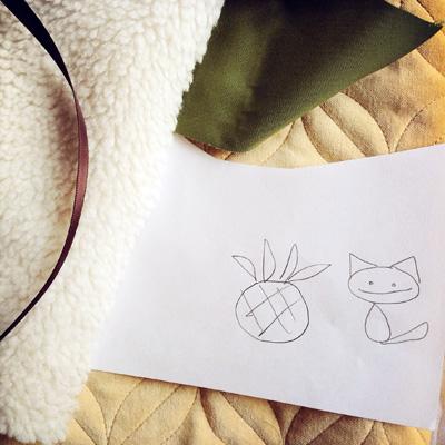 PineappleKittySketch