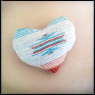 Pendleton Heart Detail