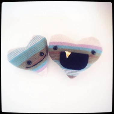 Pendleton Wool Hearts